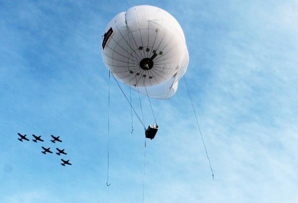 Um balão como este é que será testado