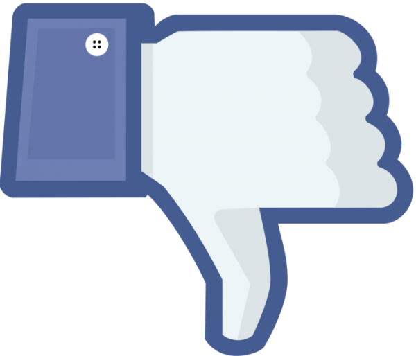 Ninguém curtiu ver a mulher decapitada, Facebook...