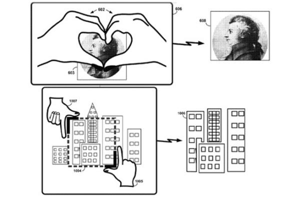 "Patente de gestos no Google Glass inclui ""S2"""