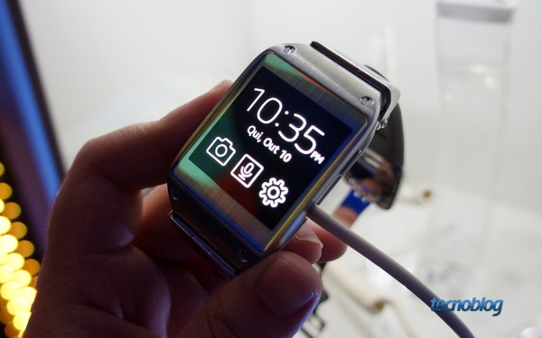 Samsung Galaxy Gear (Imagem: Tecnoblog)