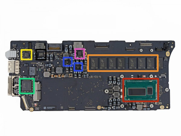 RAM soldada na placa lógica: nada de upgrades