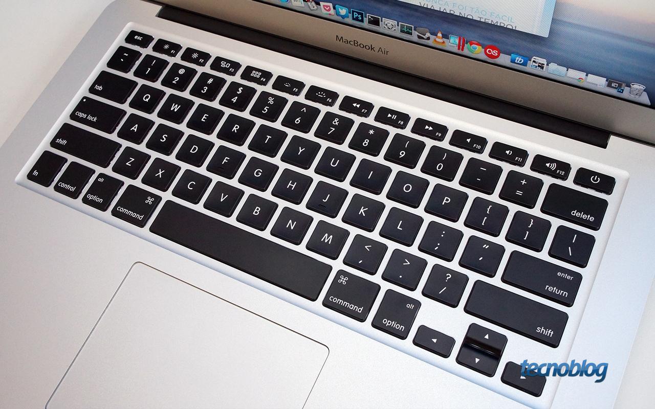 Teclado Macbook Macbook-air-teclado