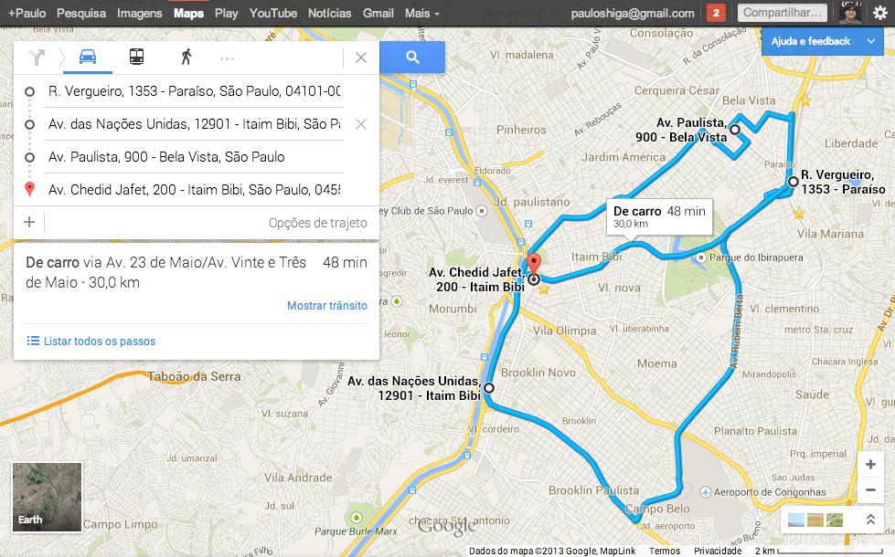 Google adiciona recurso de mltiplos destinos e agenda de eventos no embora alguns digam que o recurso s funciona nos eua conseguimos us lo em portugus e no brasil pelos testes que fizemos foi possvel montar uma rota reheart Images