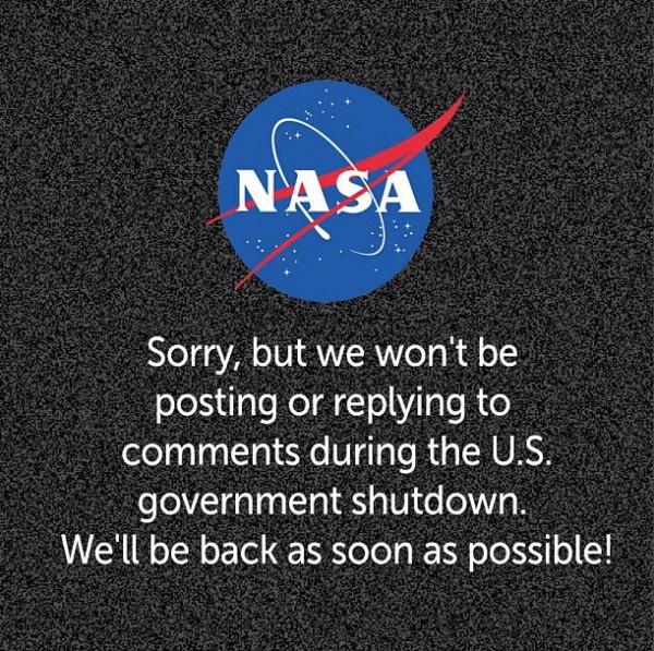 Twitter, Instagram e site da NASA estão inoperantes