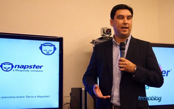 Tiago Ramazzini, VP do Napster para a América Latina, comanda o serviço no Brasil