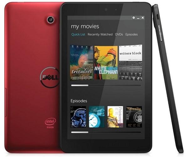 Dell Venue 8 - sim, haverá uma opção de cor vermelha