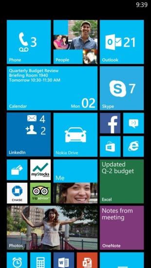 Mais espaço na tela do Windows Phone 8