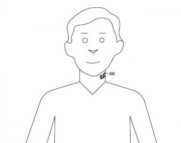 Google Motorola throat tattoo patent  Matt