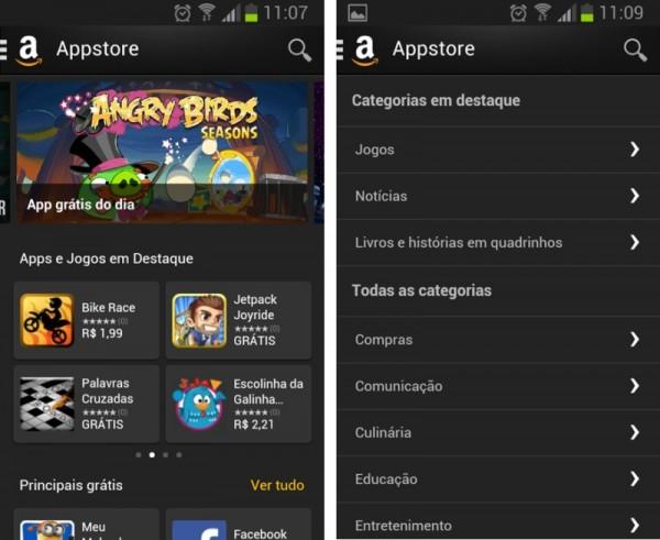 Amazon Appstore brasileira