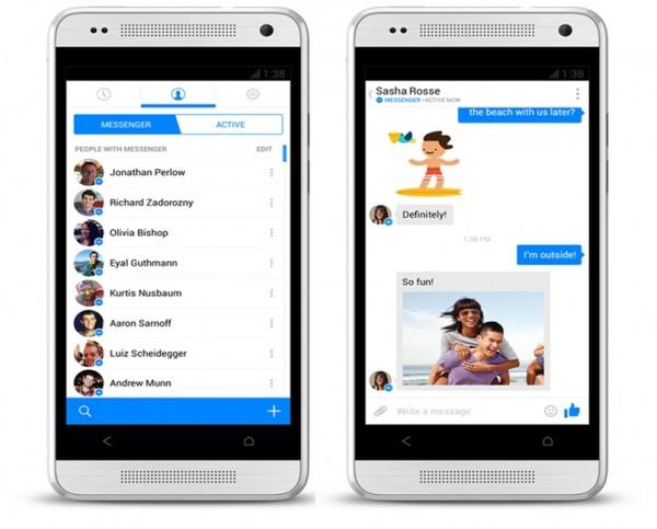 Novo Facebook Messenger