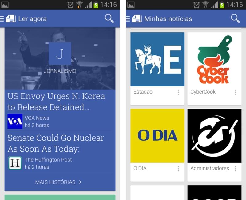 Recém-lançado, Google Play Newsstand substituirá Currents e
