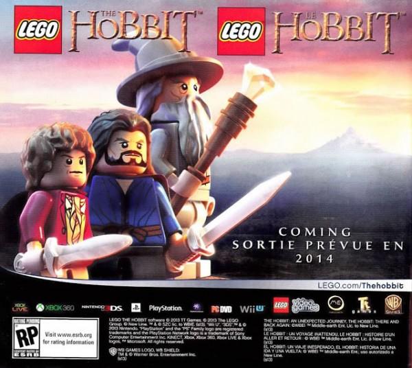 lego o hobbit 4