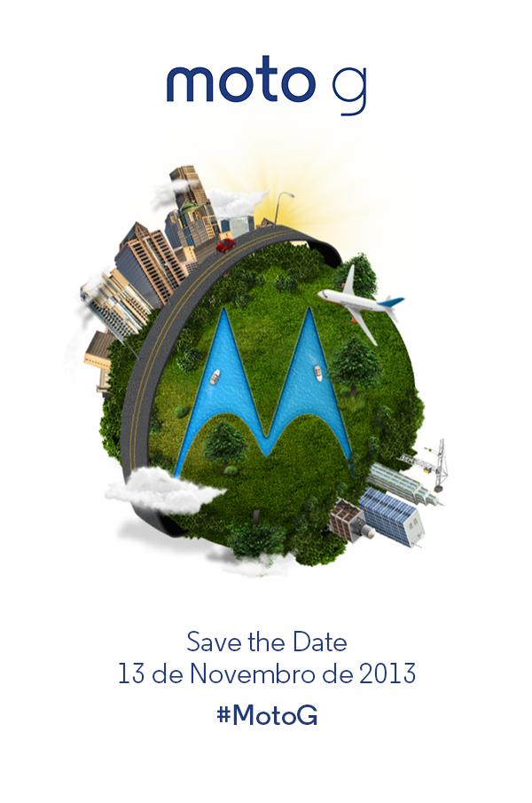 """""""Save the date"""" enviado pela Motorola Mobility Brasil"""
