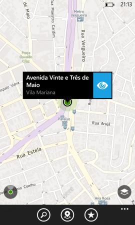 Mapas offline da Nokia