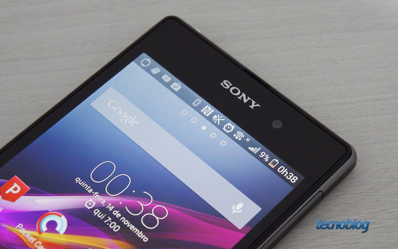 Review Sony Xperia Z1, o smartphone com hardware potente e