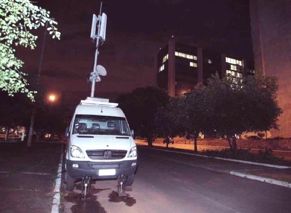 Antena móvel da TIM