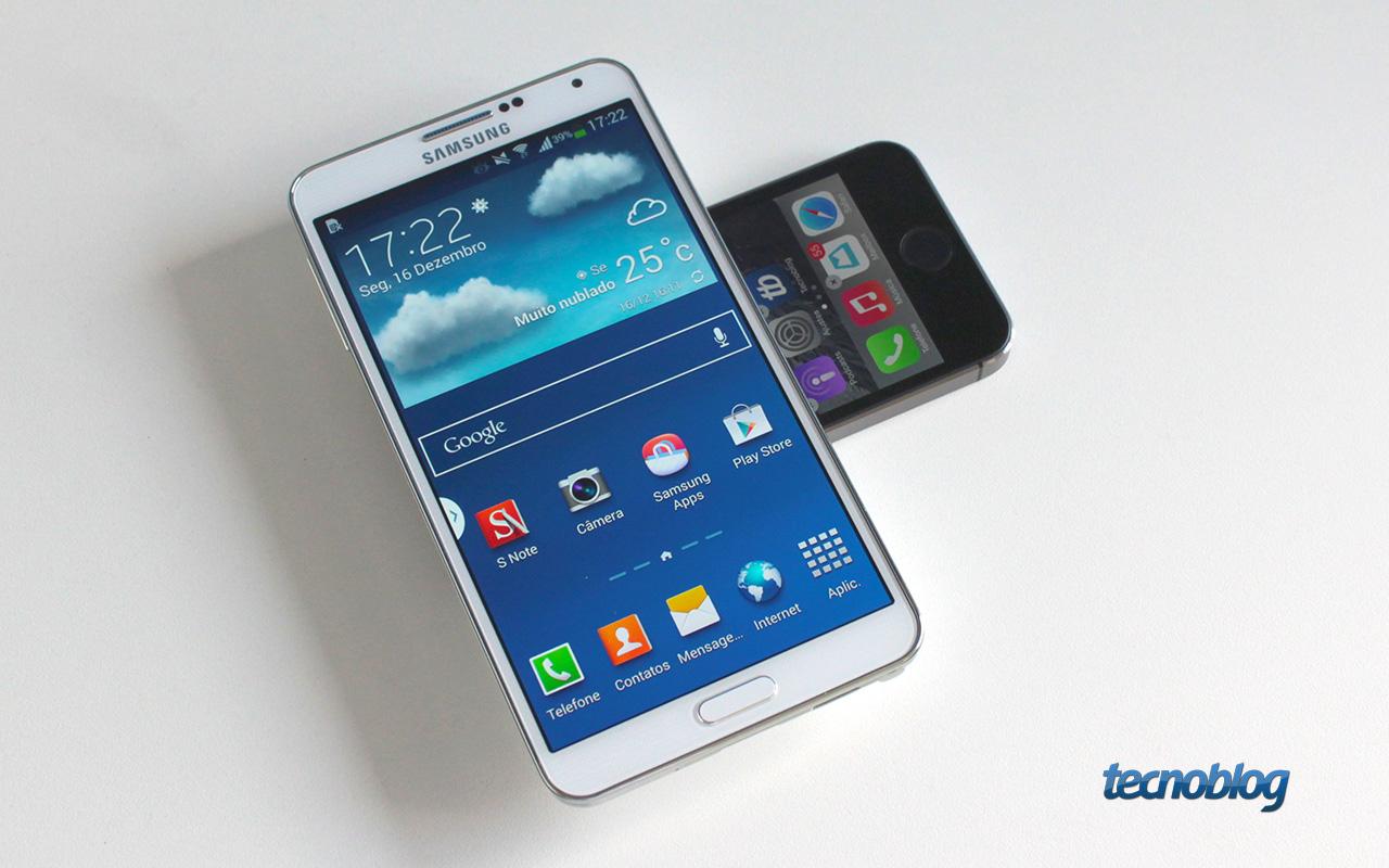 Review Galaxy Note 3, grande no tamanho e no hardware [análise/vídeo] - Tecnoblog