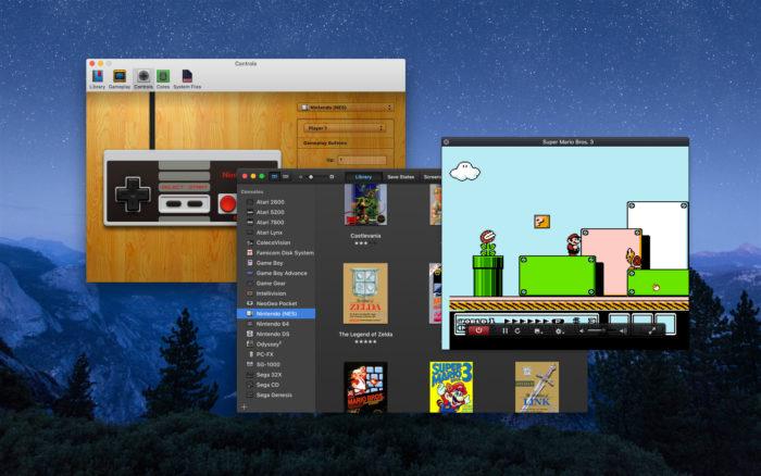 OpenEmu é um emulador de PSP, SNES, Nintendo 64 para macOS