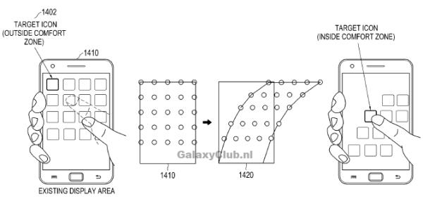 Patente Confort Zone - Samsung