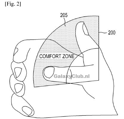 Patente Comfort Zone - Samsung