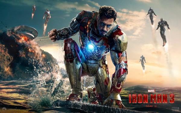 Homem de Ferro 3: mais de 7 milhões de downloads por torrent em 2013