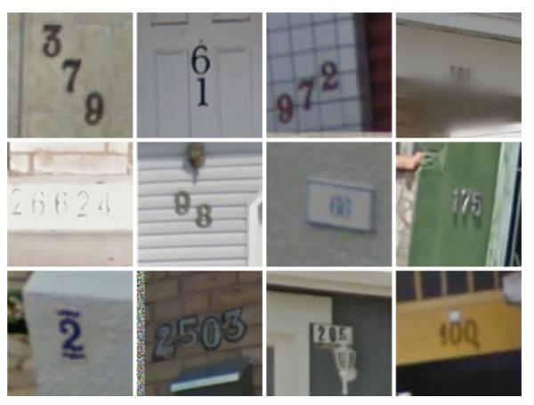 Números prediais no Google Street View