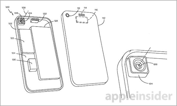 Patente da Apple para módulo de câmera