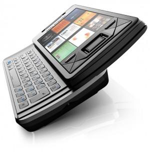 Sony Ericsson Xperia X1, lançado no Brasil em 2008 com Windows Mobile 6.1
