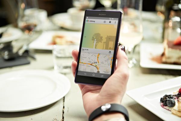 Sony SmartBand app