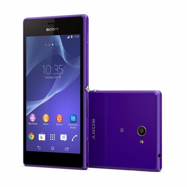 Sony Xperia M2 roxo