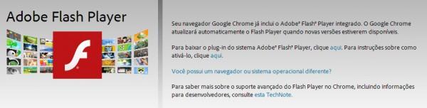 Para quem usa Chrome, o update do navegador já traz do do Flash