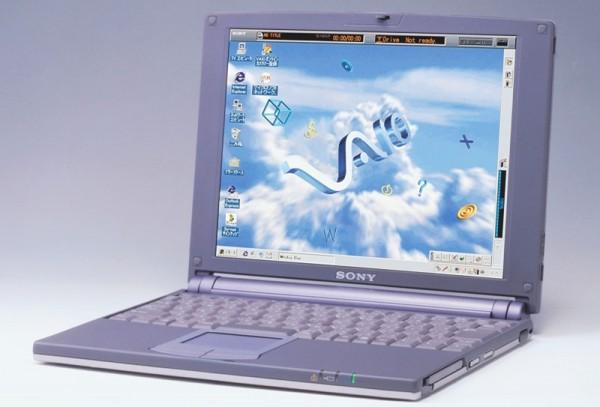 Com CPU Pentium MMX e 32 MB de RAM, o PCG-505 foi um dos primeiros laptops Vaio