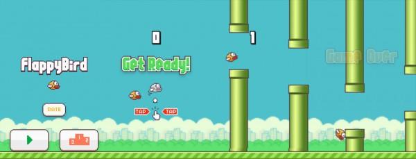Ciclo de vida em Flappy Bird