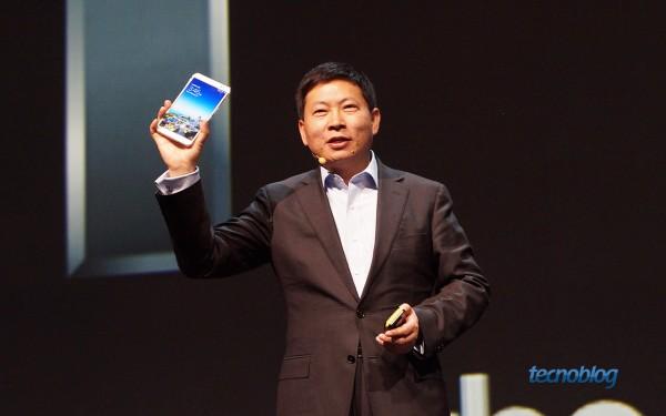 Huawei MediaPad X1: nem parece que tem tela de 7 polegadas