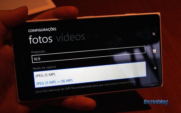 Lumia 1520 também tem oversampling