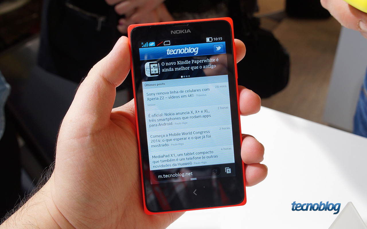 Nokia X X E Xl Hands On Tecnoblog