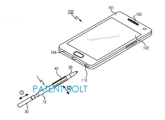 Patente: S Pen expansiva
