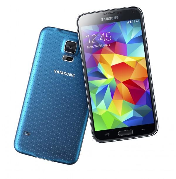Nova cor para o Galaxy S5: azul