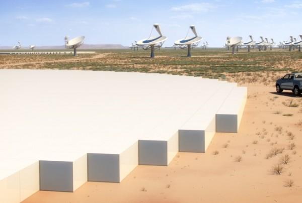 O Square Kilometer Array deverá entrar em operação a partir de 2018