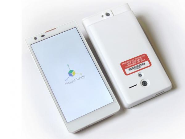 Google apresenta Project Tango, smartphone para mapear o mundo com