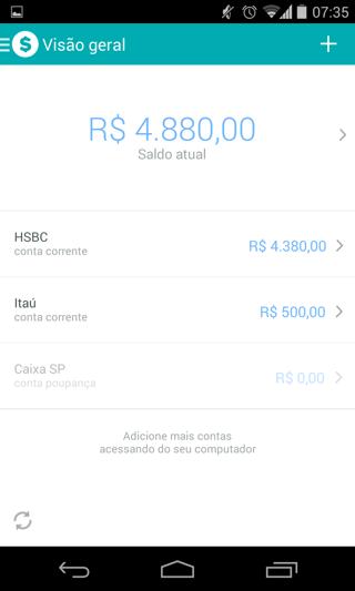 Organizze: controle financeiro no Android