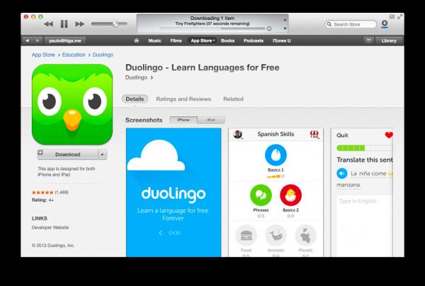 Seria mais interessante se o app fosse baixado para o iPhone, não para o Mac