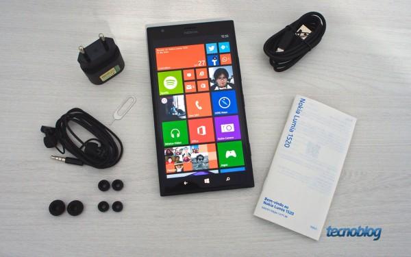 Lumia 1520 (e seus acessórios)