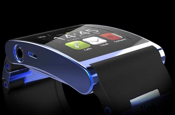 Conceito de smartwatch Android