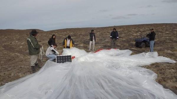 "O balão da ""NASA"" que pousou na Argentina"
