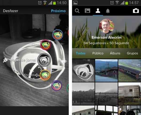 Flickr 3.0 para Android