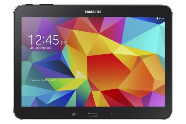 Galaxy Tab 4 10.1: único com botões frontais com orientação horizontal