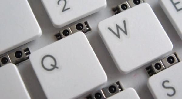 O teclado da Microsoft possui 64 sensores: 16 unidades distribuídas em quatro linhas