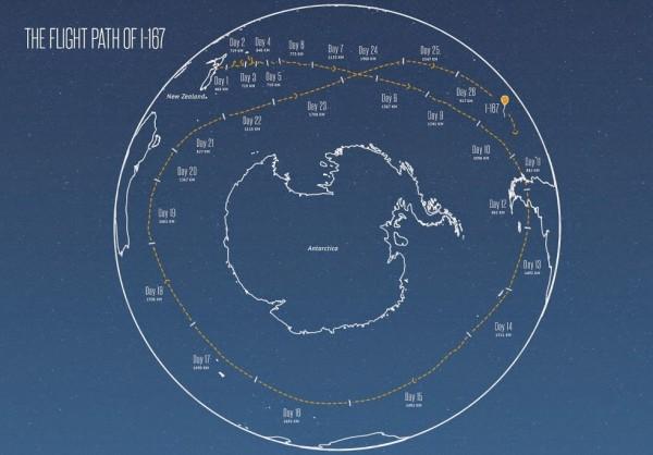 Project Loon: voo sobre o hemisfério sul em 22 dias