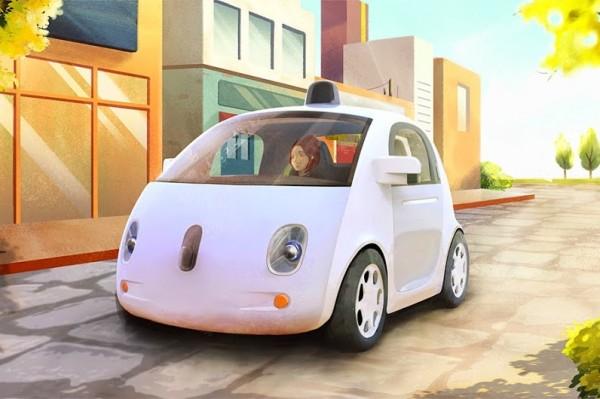 Como o Google imaginou um carro autônomo